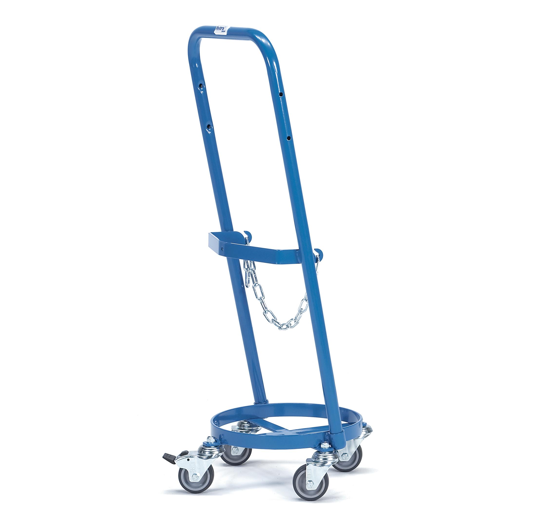 Fetra Stahlflaschenroller für 1 Propangasflasche 11 kg Inhalt, Ø 300 mm 51160