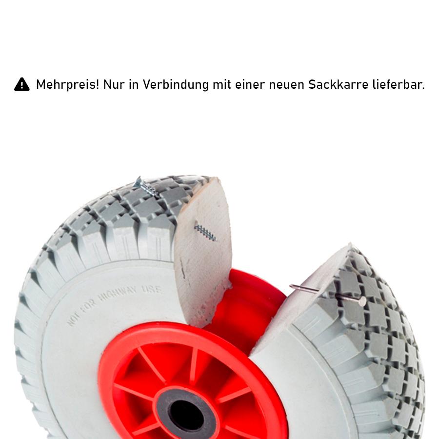 Rollcart pannensichere Reifen als Mehrpreis für Sackkarren 01-GPO/260