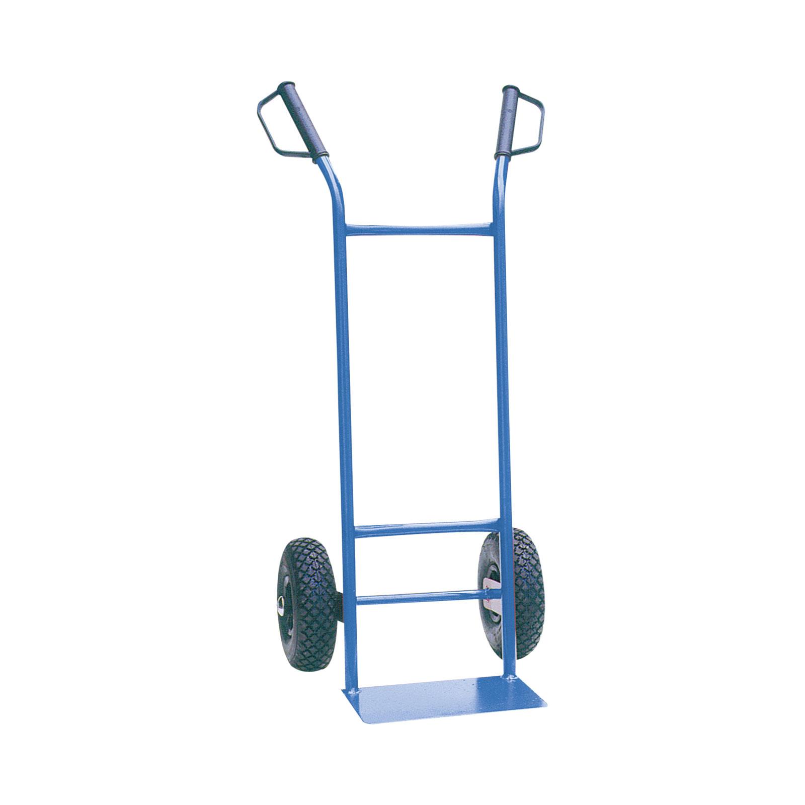 Schake Stahlrohrsackkarre 250kg Tragkraft mit Luftrad 335x200mm 51902