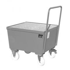 Bauer Fahrbare Auffangwanne AW-F 1, max. 1 Fässer, Mausgrau