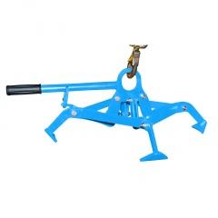 Bauer Fassgreifer 4P-D120, lackiert, Lichtblau