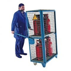 Bauer Gasflaschen-Depot GFD-G/L/R für Innen- und Außenbereiche nach TRGS 510