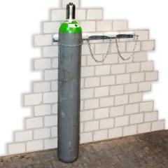 Bauer Gasflaschen- Wandhalterung für 1-3 Flaschen