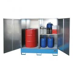 Bauer Gefahrstoff-Schrank GS abschließbar für max. 4x200l oder 1xIBC-Container