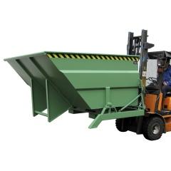 Bauer Großraumbehälter BKC mit seitlichem Drehlager