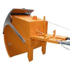 Bauer Kippbehälter RD mit Runddeckel bis 1500kg Tragkraft