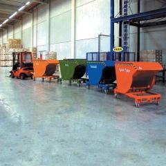 Bauer Kippbehälter BKM 30 bis 3000kg Tragkraft