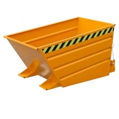 Bauer Kippbehälter mit Hebelverschluß VD 500, lackiert, Gelborange