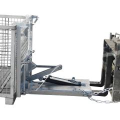 Bauer Kippomat KG-B, manuelle Kippbedienung und einstellbare Kippbremse