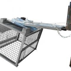 Bauer Kippomat KG-C, feuerverzinkt mit manueller Kippbedienung
