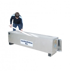 Bauer Leuchtstoffröhren-Box AL-D 150-200 nach ADR/RID 1.1.3.10c, Aluminium