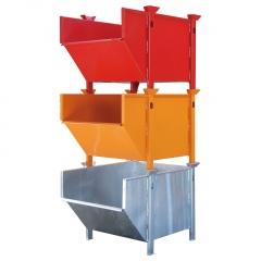 Bauer Material-Behälter BBM 3-fach stapelbar