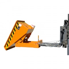 Bauer Mini-Spänebehälter EXPO-E mit niedriger Bauhöhe