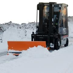 Bauer Schneeschieber bis 2400mm Schildbreite