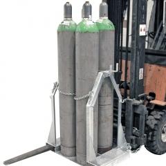 Bauer Stahlflaschen- Palette SFP für 4-8 Gasflaschen