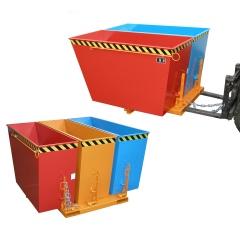Bauer Kippbehälter DUO/TRIO gelborange lackiert
