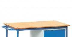 Fetra Arbeitsplatte aus Buchensperrholz 1150 x 750 mm
