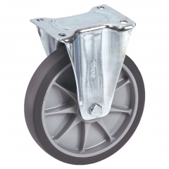 Fetra TPE Bockrolle, 200x40 mm Radgröße