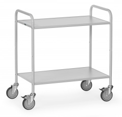 Fetra Bürowagen mit 2 Böden und offenen Seitenwänden