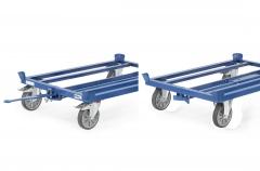 Fetra Deichsel und Kupplung für Paletten Fahrgestelle