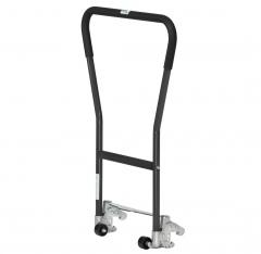 Fetra Einklink-Rohrschiebebügel für Paletten-Fahrgestelle Grey Edition