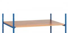 Fetra Einlegeböden mit Auflagewinkeln in Buchendekor