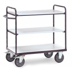 Fetra ESD-Etagenwagen mit 3 Böden, elektrisch leitfähige Ausführung
