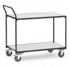 Fetra ESD-Tischwagen mit 2 Böden, elektrisch leitfähig
