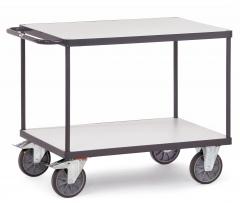 Fetra ESD-Tischwagen mit 2 Böden, elektrisch leitfähige Ausführung