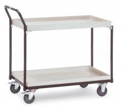 Fetra ESD-Tischwagen mit 2 Kästen, elektrisch leitfähige Ausführung
