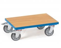 Fetra Eurokasten-Roller mit Holzwerkstoffplatte ohne Rand