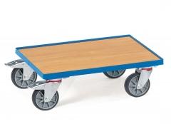 Fetra Eurokasten-Roller mit Holzwerkstoffplatte und 15 mm hohen Rand
