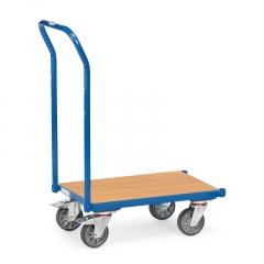 Fetra Eurokasten-Roller mit Holzwerkstoffplatte ohne Rand und Schiebebügel