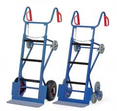 Fetra Gerätekarre mit Luft-Bereifund oder mit Treppensternen