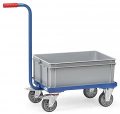 Fetra Griffrollwagen mit Kunststoffkasten 250kg Tragkraft KF4