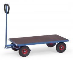 Fetra Handwagen mit Plattform Vollgummibereifung