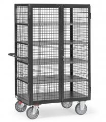 Fetra Kastenwagen mit 5 Einlegeböden Grey Edition