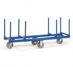 Fetra Langmaterialwagen mit Rungen 500mm lang