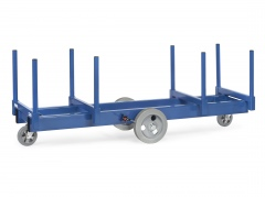 Fetra Langmaterialwagen, mit Vollgummi- oder Polyurethan-Bereifung