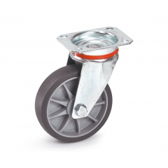 Fetra TPE Lenkrolle, 125x32 mm Radgröße