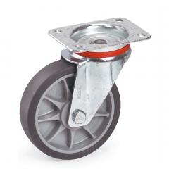 Fetra TPE Lenkrolle, 160x40 mm Radgröße