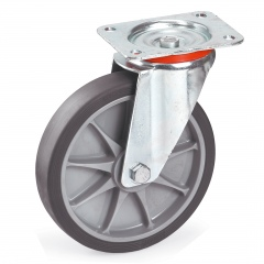 Fetra TPE Lenkrolle, 200x40 mm Radgröße
