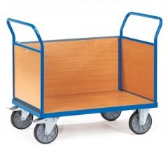 Fetra Multivario Dreiwandwagen mit Buchendekor 1000x600mm Ladefläche