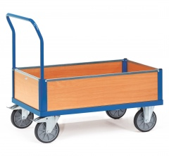Fetra Multivario Kastenwagen mit Buchendekor 1200x800mm Ladefläche