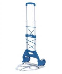 Fetra Paketroller Höhe 1030 mm, mit Polymer-Rädern 127 x 30 mm, klappbar