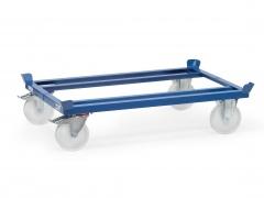 Fetra Palettenfahrgestelle für Gitterboxen und Flachpaletten mit Polyamid Rädern