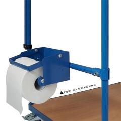 Fetra Papierrollenhalter bis Ø210mm als Zubehör für Multivario Wagen 700mm breit