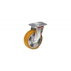 Fetra Polyurethan Lenkrolle, 125x40 mm Radgröße