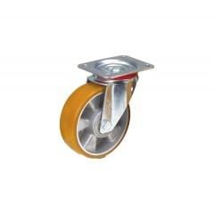 Fetra Polyurethan Lenkrolle, 160x50 mm Radgröße