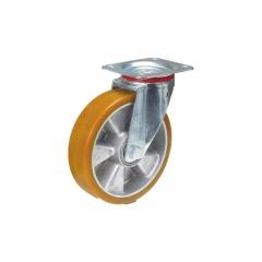 Fetra Polyurethan Lenkrolle, 200x50 mm Radgröße